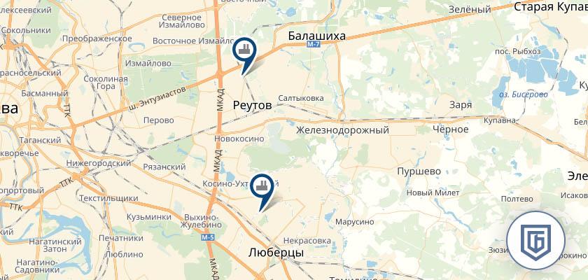Бетонный завод в Черном