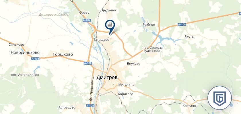 Бетонный завод в Дмитрове