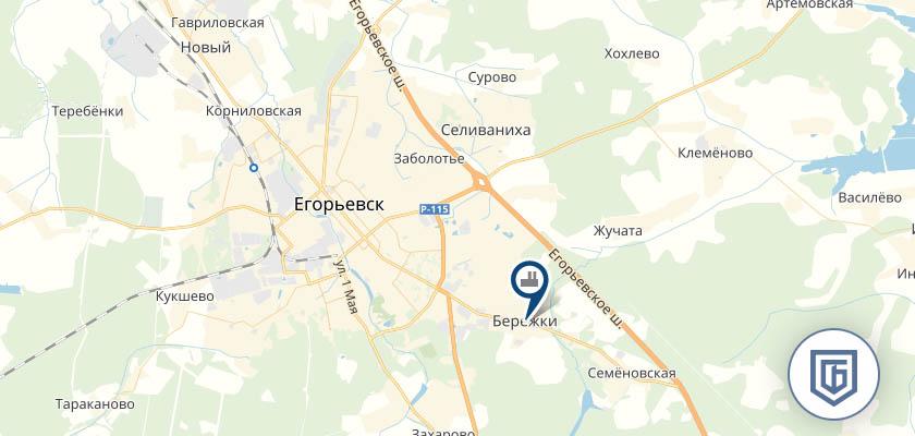 Бетонный завод в Егорьевске