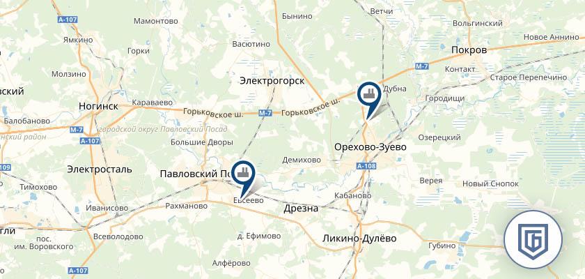 Бетонный завод в Электрогорске