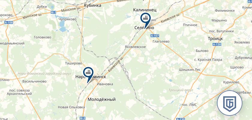 Бетонный завод в Киевском