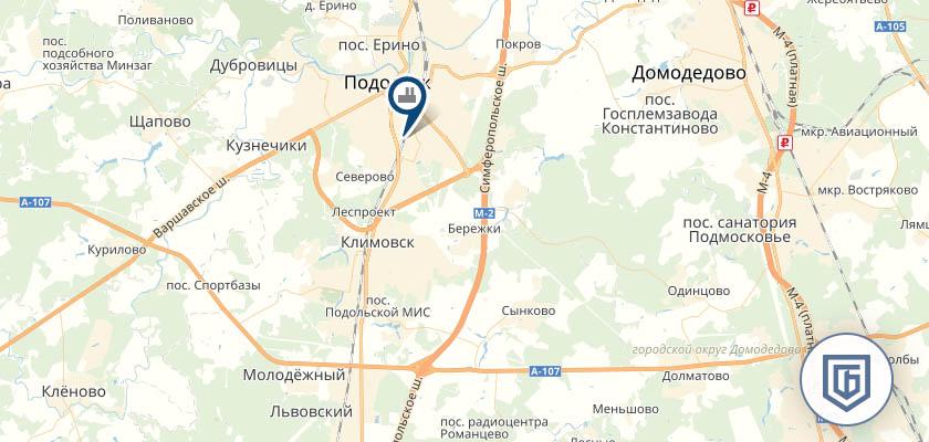 Бетонный завод в Климовске