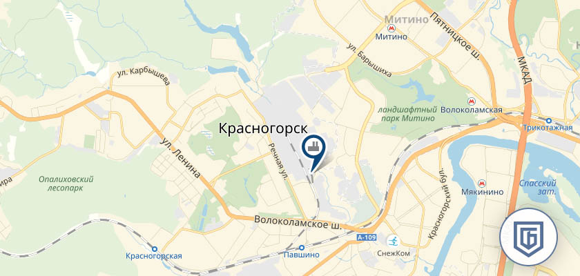 Бетонный завод в Красногорске