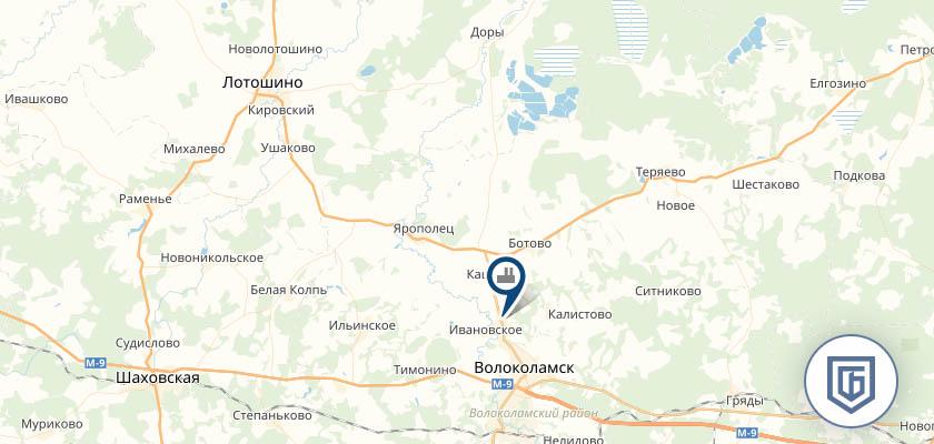 Бетонный завод в Лотошино