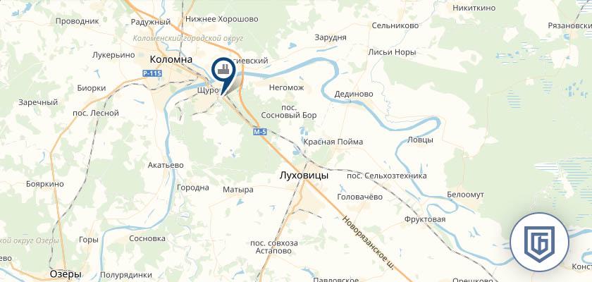 Бетонный завод в Луховицах