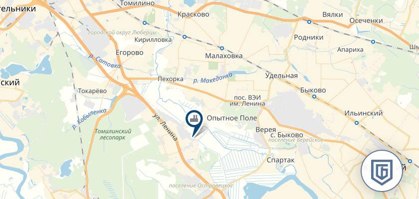Бетонный завод в Малаховке