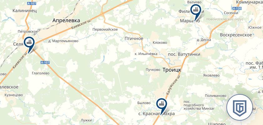 Бетонный завод в Первомайске