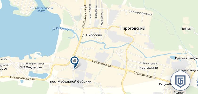 Бетонный завод в Пирогово