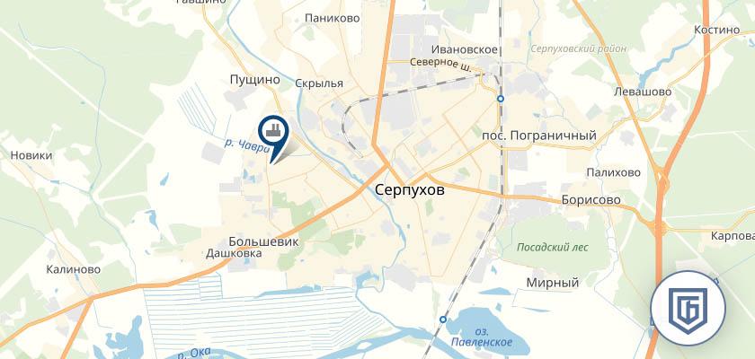 Бетонный завод в Серпухове