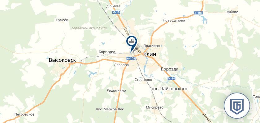 Бетонный завод в Высоковске
