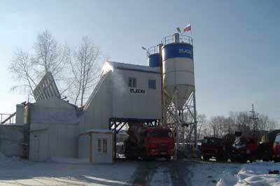 Бетонный завод в Кубинке
