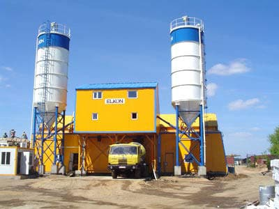 Бетонный завод в Троицке