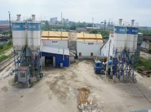 Бетонный завод в Озерах
