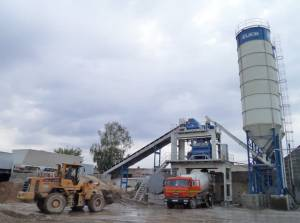 Бетонный завод в Истре