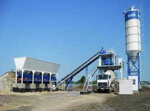 Бетонный завод в Павловском Посаде