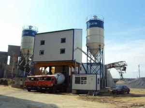 Бетонный завод в Рузе