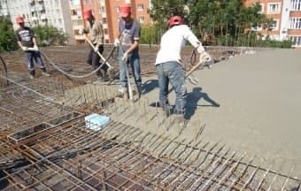 Применение бетона М350 В25