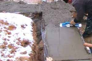 Устойчивость бетона к морозам