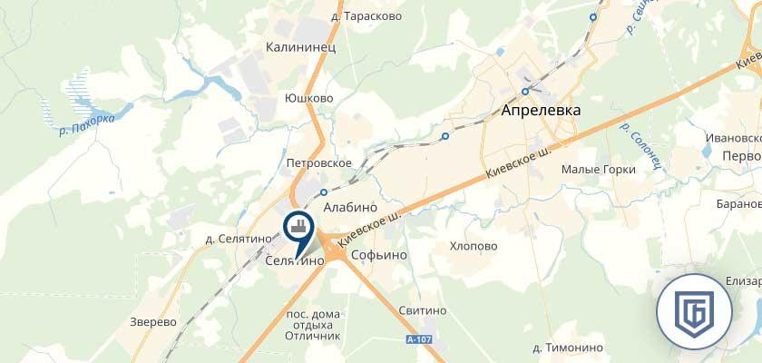 Бетонный завод в Апрелевке