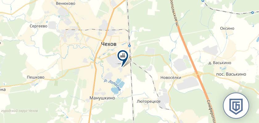 Бетонный завод в Чехове