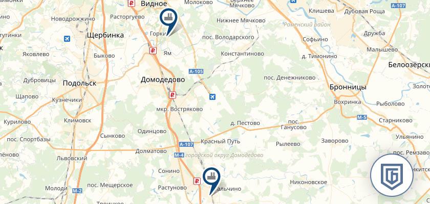 Бетонный завод в Домодедово