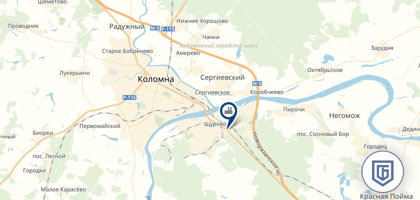 Бетонный завод в Коломне