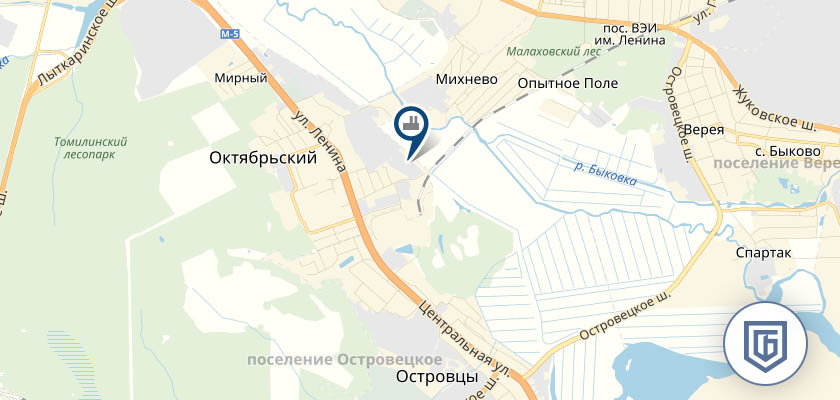 Бетонный завод в Октябрськом