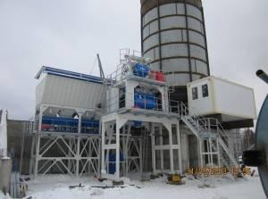 Бетонный завод в Серебряных Прудах