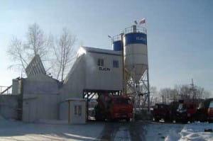 Бетонный завод в Волоколамске
