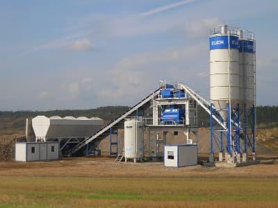 Бетонный завод в Можайске