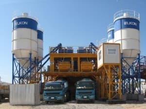 Бетонный завод в Дубне