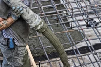 Применение бетона М250 В20
