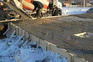 Воздействие температуры на бетон